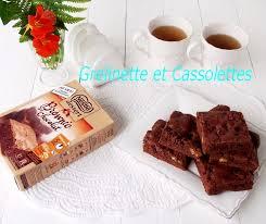 brownies très chocolat nestlé dessert grelinette et cassolettes