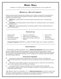 Professional Receptionist Resume Law Office Sample