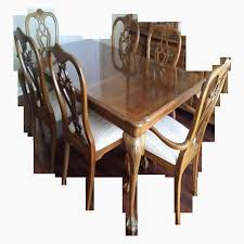 Elegant Dining Table And Chairs Sale