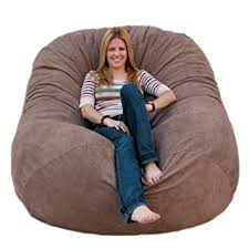Amazon Cozy Sack 6 Feet Bean Bag Chair Earth Kitchen