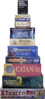 Modern Board Games Card