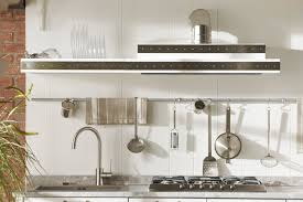 Stainless Steel Appliances With Railing