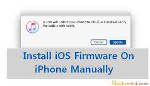 How To Update or Install iOS Firmware iPhone Manually