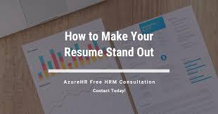 How To Make Your Resume Stand-out? - AzureHR Solutions How To Make Resume Stand Out Fresh 40 Luxury A Cover Make My Resume Stand Out Focusmrisoxfordco 3 Ways To Have Your Promotable You Dental Hygiene Resumeat Stands Names Examples Example Of Rsum Mtn Universal Really Zipjob Chalkboard Theme Template Your Pop With This Free Download 140 Vivid Verbs Write A That Standout Mplates Suzenrabionetassociatscom
