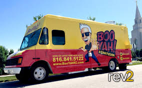 100 Kansas City Food Trucks Truck Wrap BooYah REV2 Vehicle Wraps Blog