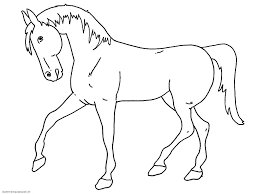 Horse Coloring Pages For Kids Free Printable