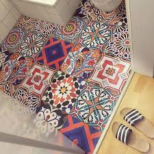 fliesenaufkleber boden für küche bad design