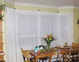 Dignitet Curtain Wire Pictures by Amazon Com Curtain Wire Rod Set Stainless Steel Multi Purpose