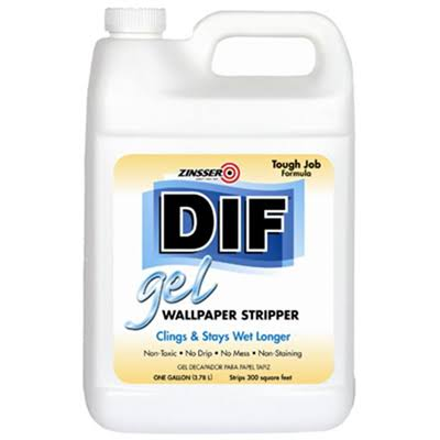 Zinsser Dif Gel Wallpaper Stripper - 1gal