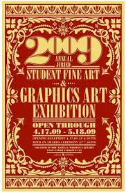 Student Art Show Poster