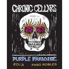 Sofa King Bueno Wine by Chronic Cellars Purple Paradise Red Blend 2013 Wine Com