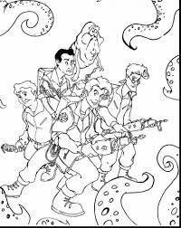 Printable Ghostbusters Coloring Pages Free