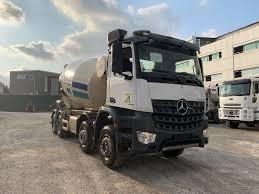100 Concrete Truck Capacity MERCEDESBENZ 2017 Model Arocs 4142 Euro 6 12 M3 Concrete Mixer Truck