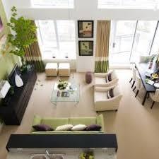 Posh Open Floor Plan Living And Dining Room