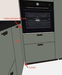 ikea metod ecke mit hochschrank und arbeitsplatte wie