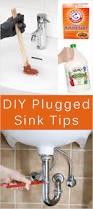 Home Remedy To Unclog A Clogged Sink by Tips For Clogged Sinks U0026 Homemade Drain Recipe Tipnut Com