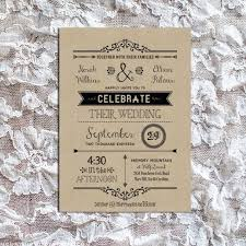 Rustic Wedding Invitation Wording Homemade Pertaining To Country Template