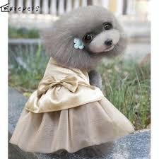 cat wedding dress aliexpress buy cat chihuahua clothes pet wedding dress