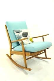 Modern Rocking Chair Mid Century Teak Retro Vintage Danish