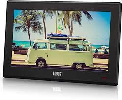 august da100d 10 tragbarer hd tv dvb t2 mpeg4 h 264 h 265 hevc lcd fernseher mit pvr multimedia player digital analog tv für küche