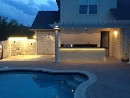 outdoor led flood light fixture design bistrodre porch and
