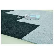 kongstrup teppich langflor hellblau grün 133x195 cm ikea