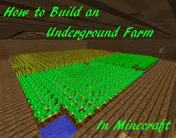 Redstone Lamps That Turn On At Night by How To Build An Underground Farm In Minecraft Levelskip