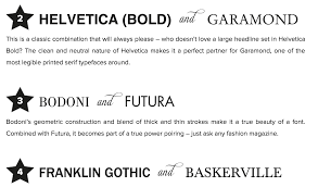 10 Infographics How to Mix Fonts Like a Pro Creative Market Blog