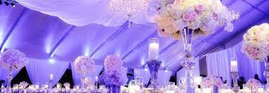 décoration salle de mariage pas cher tenture noeuds de chaise
