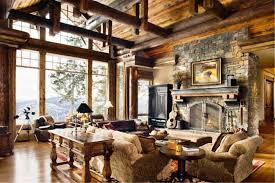 Image Of Rustic Living Room Design