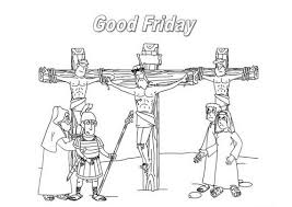 Good Friday Coloring Pages And Pintables For Kids 02 1