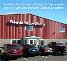 reeds ferry sheds directions and hours