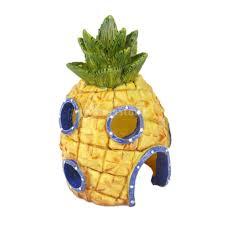 Spongebob Aquarium Decor Set by Aliexpress Com Buy Aquarium Decoration Resin Spongebob Pineapple