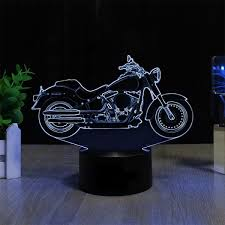 La Tee Da Lamps by 7 Color 3d Harley Led Lamp Products Pinterest Led Lamp