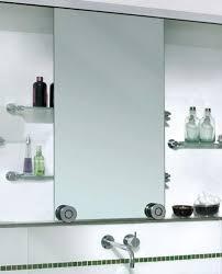 wood recessed medicine cabinet with mirror home depot bathroom