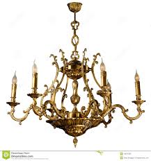 Vintage Chandelier Stock Illustration Of Candle