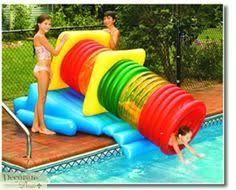 Vortex Swimming Pool Slide With Ladder