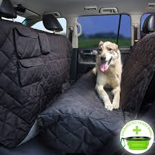 100 Car Seat In Truck Tapiona XL Dog Cover SUV Extra Coverage Back Cover 63Wx94L Large Pets Hammock Heavy Duty Waterproof Nonslip No Odor