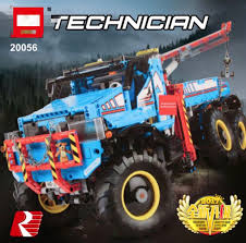 100 Bricks Truck Sales SALES LEPIN 20056 Technic 6x6 All Terrain Tow Set