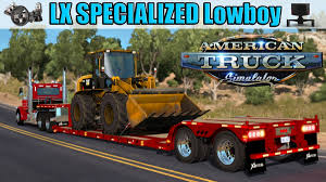 XL Specialized Lowboy Trailer ATS 1.32.x | American Truck Simulator Mods Heavy Haul Jung Trucking Warehousing Logistics In St Louis Mo 1979 Rogers Lowboy Trailer For Sale Phillipston Ma Tr514 Sale Oversize Load Truck Stock Vector Royalty China Duty Factory 3 Axles 60 Ton Flatbed Buffalo Road Imports Peterbilt 367 W Triaxle Trailerwh An Old Mack Lowboy Truck With A Dominion Crawler Crane On Flickr Lowbed Trucks 1 Lowbed Cfigurations Hauling Various General Hauling Titan Vehicle Axles 100 Tons And Trailers For Sale Vintage Tonka Truck Trailer Steam Shovel 13685 Volvo Fh16 And Cat Wheel Loader On Traiiler Editorial