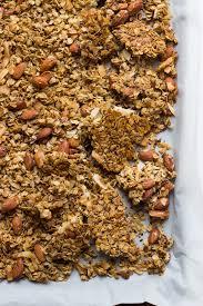 Pumpkin Flaxseed Granola Nutrition Info by Homemade Vanilla Almond Flax Granola With Coconut Little Broken