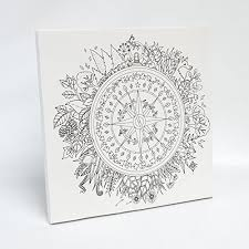 Johanna Basford Enchanted Forest Coloring Canvas