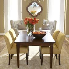 Yellow Gray Palette With Warm Honey Walls Christopher Dining Table