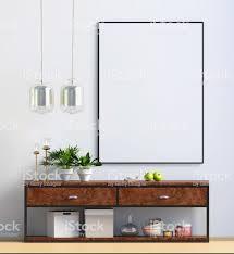 100 Modern Residential Interior Design In Scandinavian Style Mock Up Poster 3d