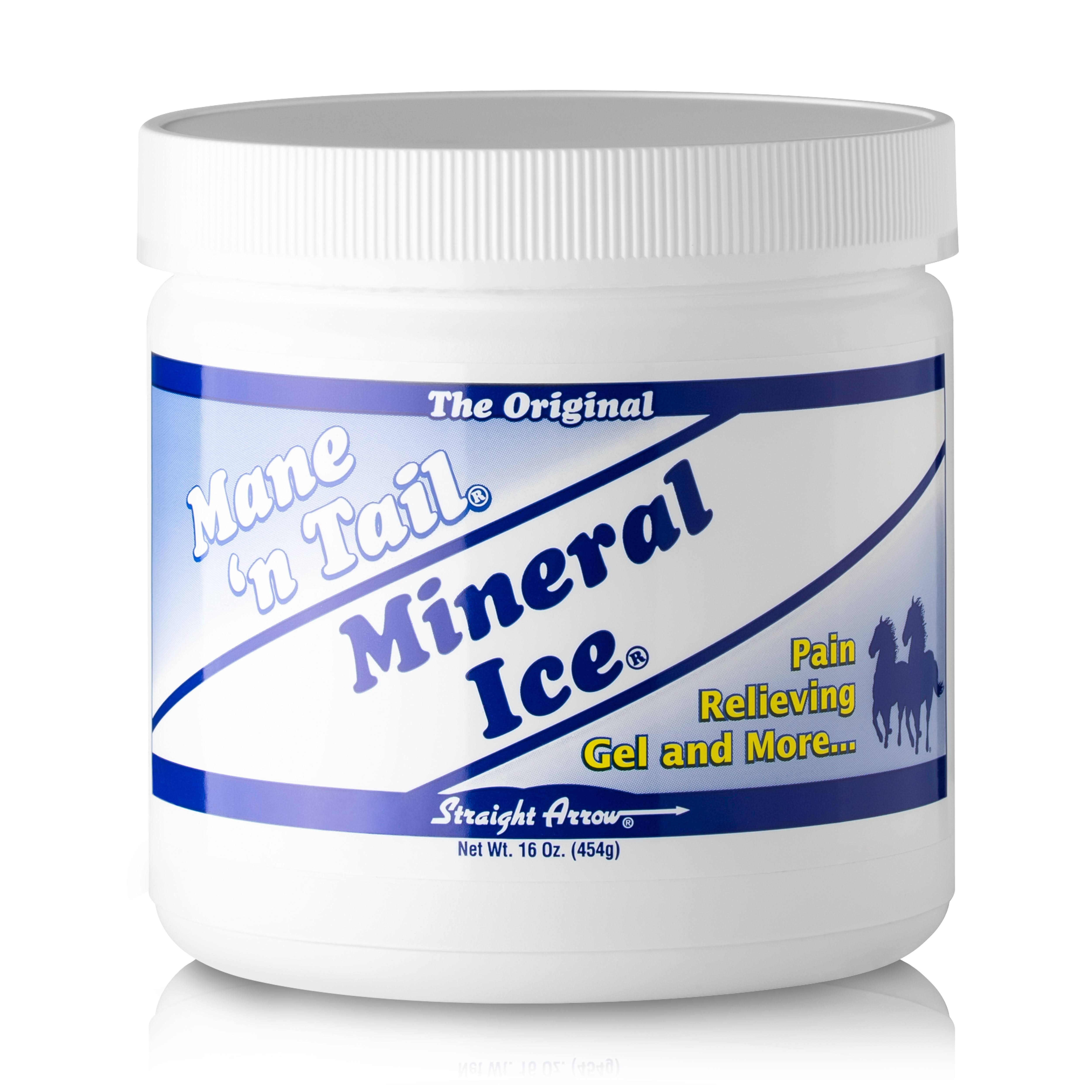 Straight Arrow 300106 Mineral Ice Horse Therapeutic Pain Reliever - 16oz