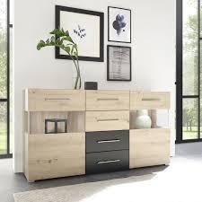 kommode weiß schlafzimmer schwarz schubladenkommode
