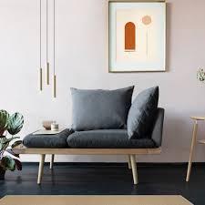 umage lounge around 1 5 sitzer eiche slate grey grey