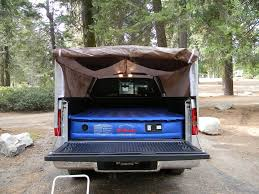 homemade truck bed tent camping Pinterest