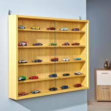 Small Wall Display Cabinet Shelves Cabinets Glass With Lock Case