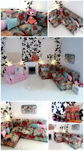 Barbie Living Room Furniture Diy by 42 Best Doll Houses Foam Board Images On Pinterest Doll Houses